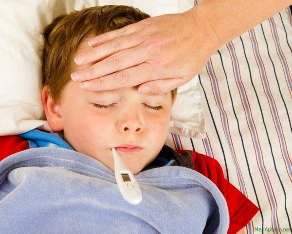 Температура при глистах у детей