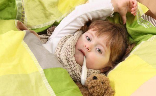 температура при отравлении у ребенка