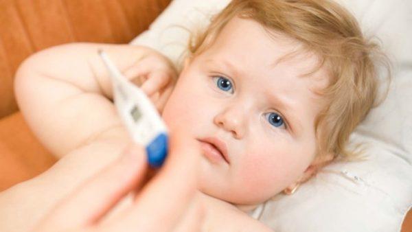 температура у ребенка 4 месяца