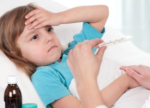 резко поднялась температура до 39 без симптомов у ребенка