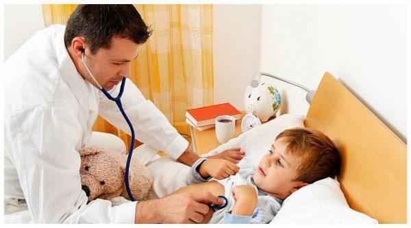 учащенное дыхание при температуре у ребенка