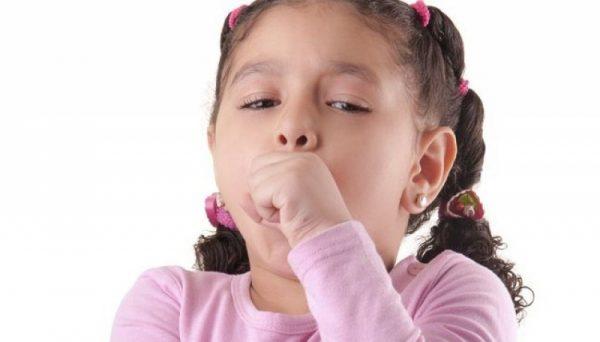 у ребенка сухой кашель и температура 38
