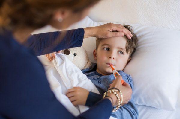 озноб у ребенка при температуре что делать