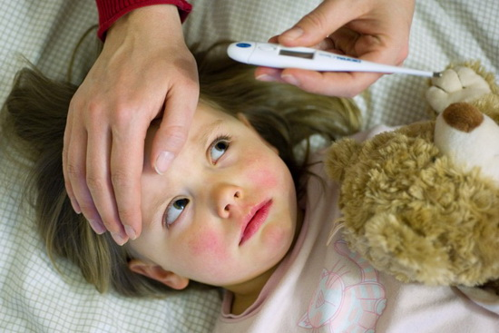 третий день температура 39 у ребенка