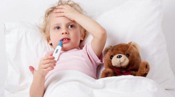 у ребенка температура 38 без симптомов