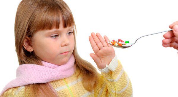 антибиотики для детей при температуре
