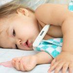 Повышение температуры у детей при ротовирусе