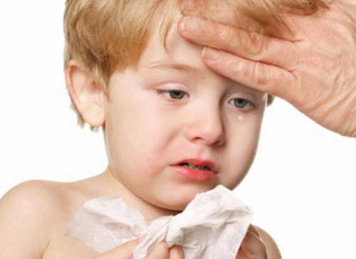 сколько держится температура при орви у ребенка