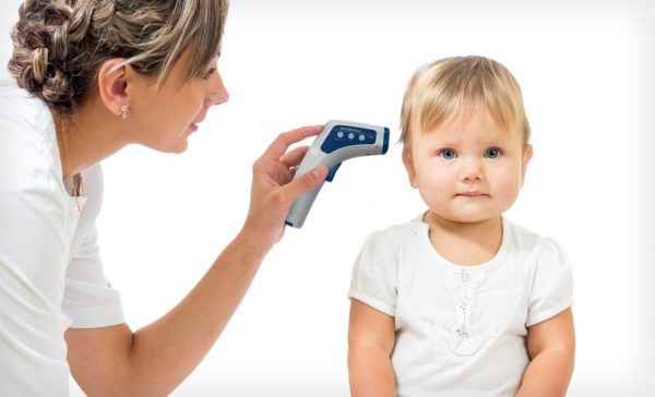 как мерить температуру грудничку