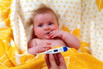 Температура у ребенка до года как и когда сбивать