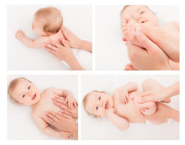может ли подняться температура после массажа у ребенка