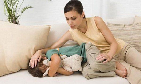 лихорадка при температуре у ребенка
