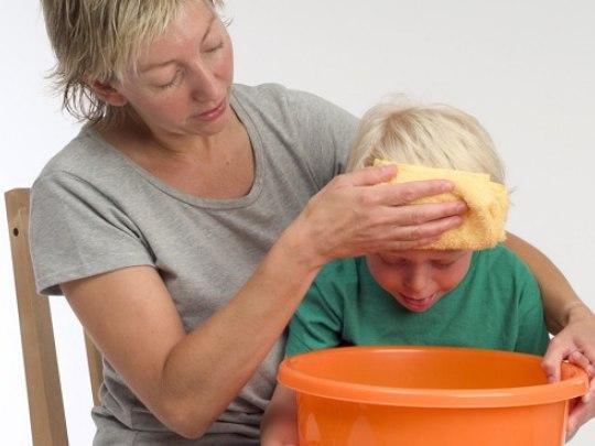 рвота и пониженная температура у ребенка