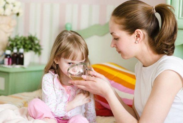 чем сбить температуру у ребенка 6 лет