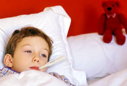 Жар у ребенка, как снять жар, причины, лечение