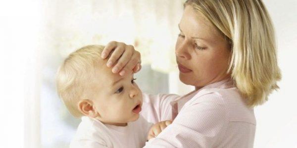 нормальная температура у ребенка до года
