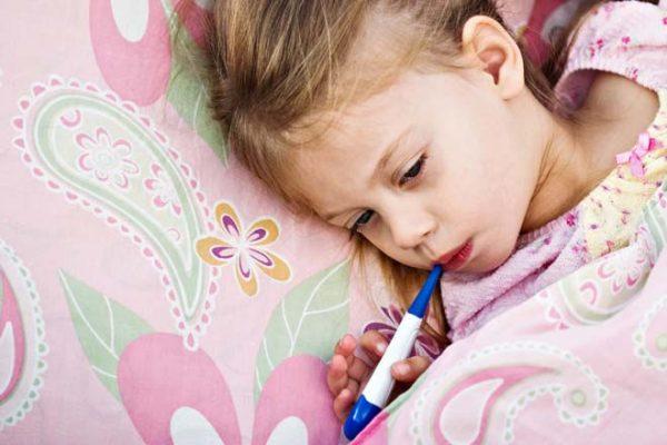 температура без кашля и соплей у ребенка