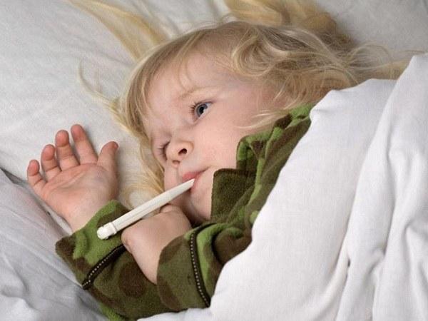 у годовалого ребенка температура