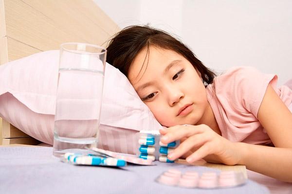 Тройчатка от температуры для детей состав таблетки