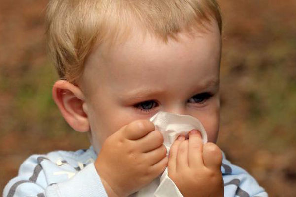 сопли и температура у ребенка