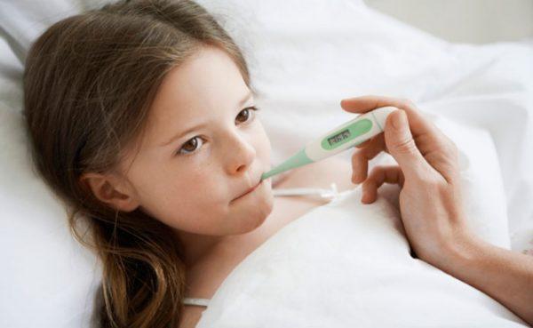скачки температуры у ребенка без симптомов