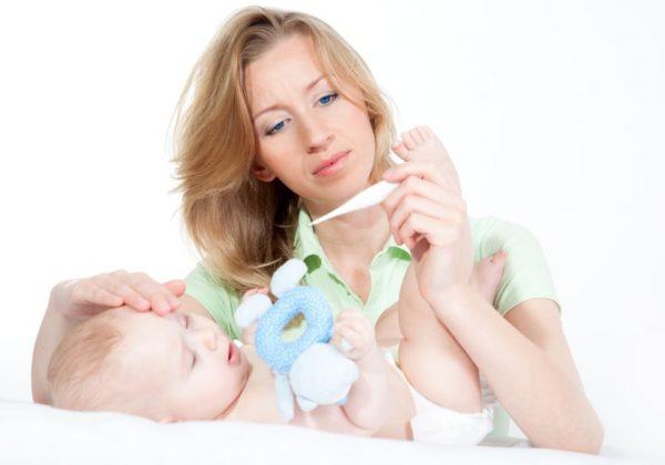 у ребенка температура 37 без симптомов что это может быть