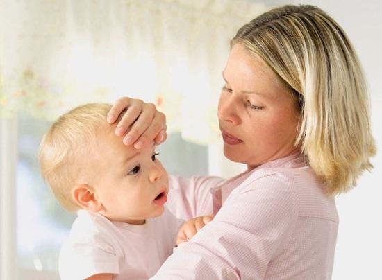 высокая температура у грудного ребенка